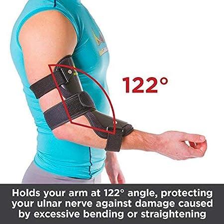 BraceAbility Cubital Tunnel Syndrome Elbow Brace | Splint to Treat Pain  from Ulnar Nerve Entrapment,