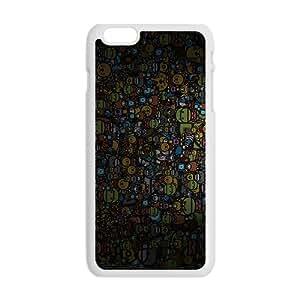 Creative Animals Family Cartoon Custom Protective Hard Phone Cae For Iphone 6 Plus
