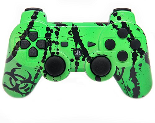 """""""Toxic Green"""" Ps3 Rapid Fire Custom Modded Controller 30 ..."""