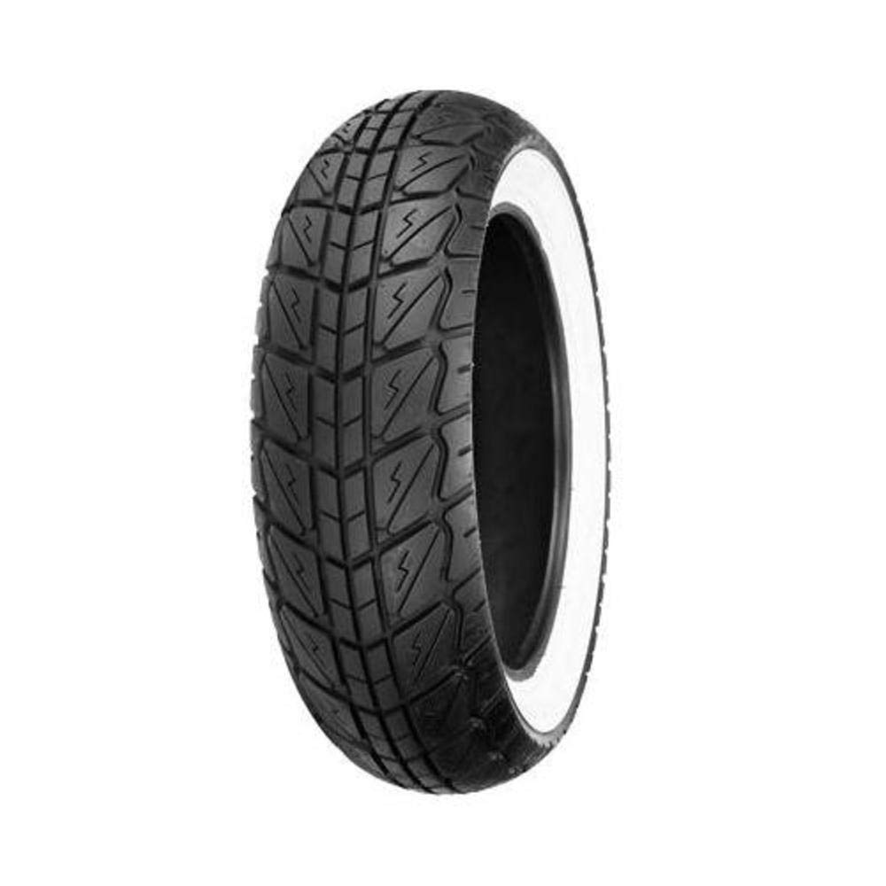 Shinko SR723 Series Tire - Front - 120/70-12 - White Wall , Position: Front, Tire Size: 120/70-12, Rim Size: 12, Tire Ply: 4, Speed Rating: P, Tire Type: Scooter/Moped, Load Rating: 58 XF87-4261 4333415213