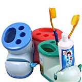 MAZIMARK--Lovely Children Boot Toothbrush Toothpaste Holder Storage Box For Bathroom Decor