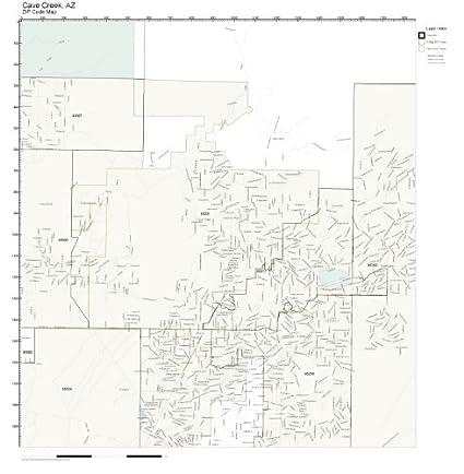 Cave Creek Az Map on