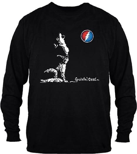 f924ffcff29 Amazon.com  Grateful Dead Dire Wolf Long Sleeve Shirt by Dye The Sky ...