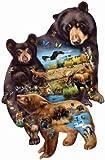 Bear Family Adventure 1000 pc Jigsaw Puzzle