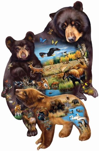 Bear Family Adventure a 1000-Piece Jigsaw Puzzle by Sunsout Inc.
