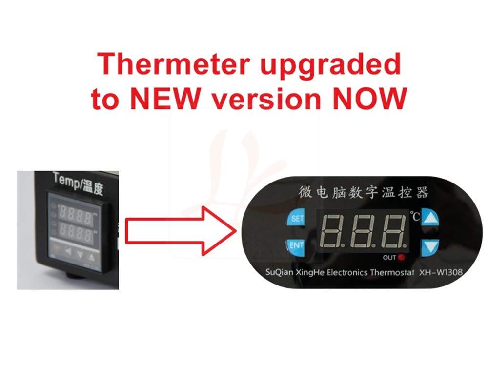 Huanyu 3 en 1 termostato Digital LCD Separador de Pantalla Integrado Bomba de vacío Marco Medio Separador máquina para iPhone/Samsung/Android Pantalla ...