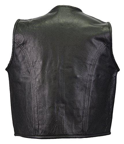MDM - Manteau sans manche - Maillot de corps - Homme noir noir XXL