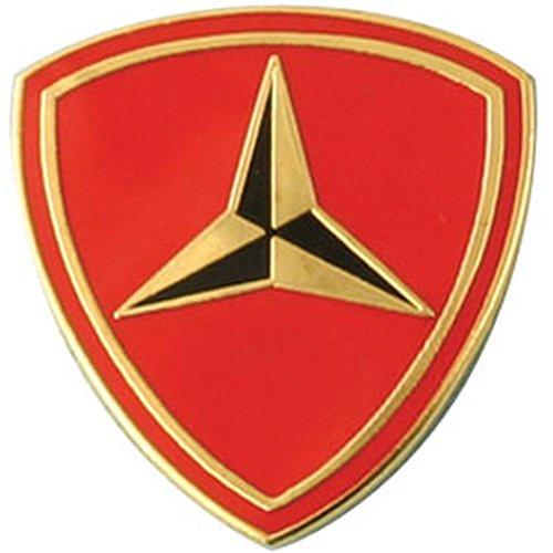 3rd Marine Division Lapel Pin ()