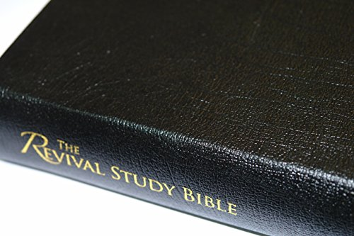 Revival Study Bible (Leather Black) by William (Winkie) Pratney, Tamara S. Winslow, Steve Hill (2010) Leather Bound - Mercado Leather