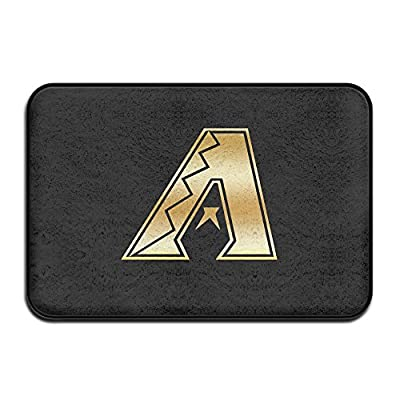 Arizona Diamondbacks Glod Logo Non-slip Doormat 24*16-inch White