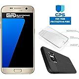 "Samsung Galaxy S7 G930 Verizon CDMA /GSM Unlocked (Certified Refurbished) w/ ""ED Bundle"" - $99 Value (Bundle Includes: ED Case + Screen Protector + 1 Year CPS Limited Warranty) (Gold, 32GB)"