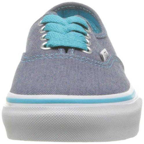 Vans K Authentic, Zapatillas Niño Negro (Denim Blue/Sc)
