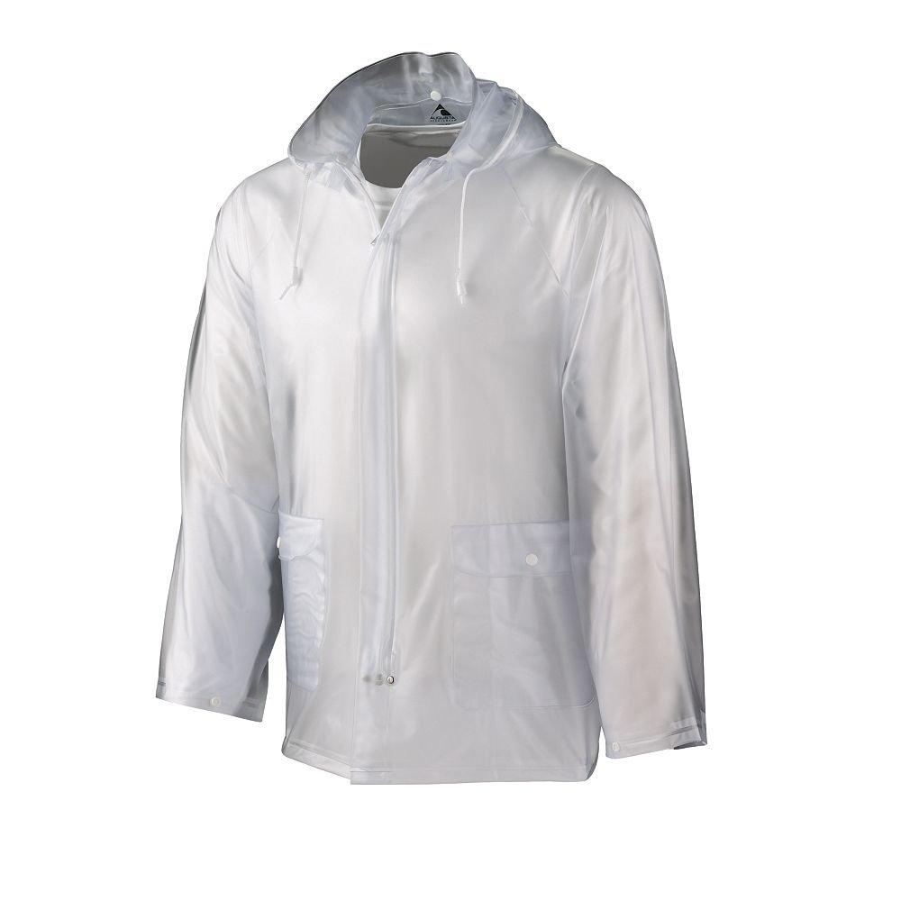 Augusta Sportswear Augusta Rain Jacket, Clear, Medium