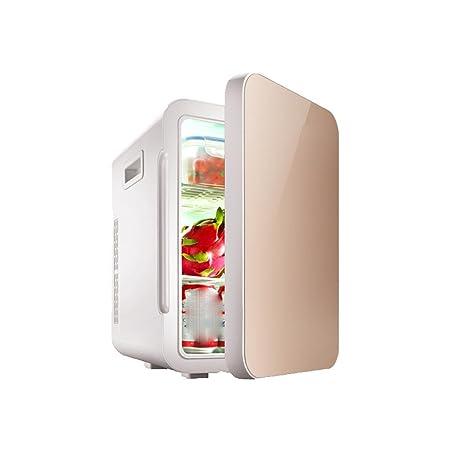 STAZSX Refrigerador pequeño de Oro 22L Refrigeración/calefacción ...