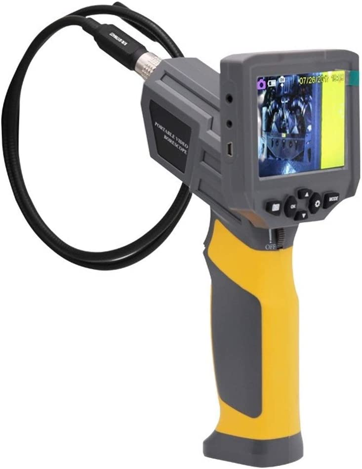 EODUDO-S High Precision HT660 Industrial Endoscope Video Detector Vehicle Pipeline Visualization Detector,Easy to Use
