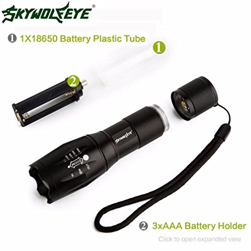 Familizo LED Flashlight, Tactical LED Flashlight G700 SkyWolfeye X800 Zoom...