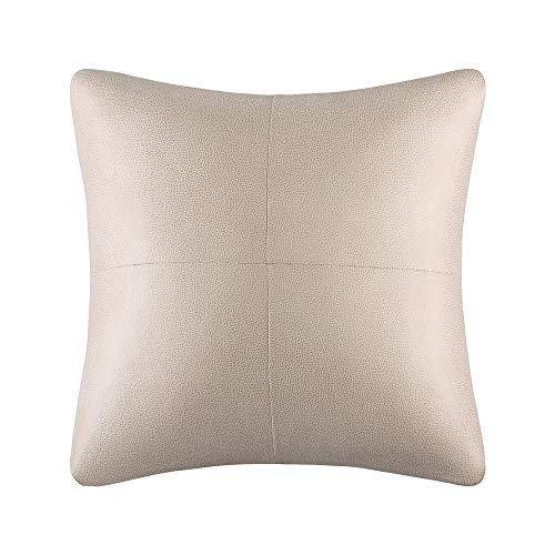 Sure Fit Ultimate Heavyweight Stretch Leather Slipcover (Pebbled Ivory, Pillow)