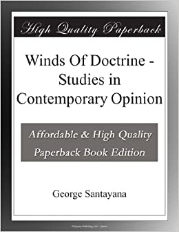 Book Winds Of Doctrine - Studies in Contemporary Opinion
