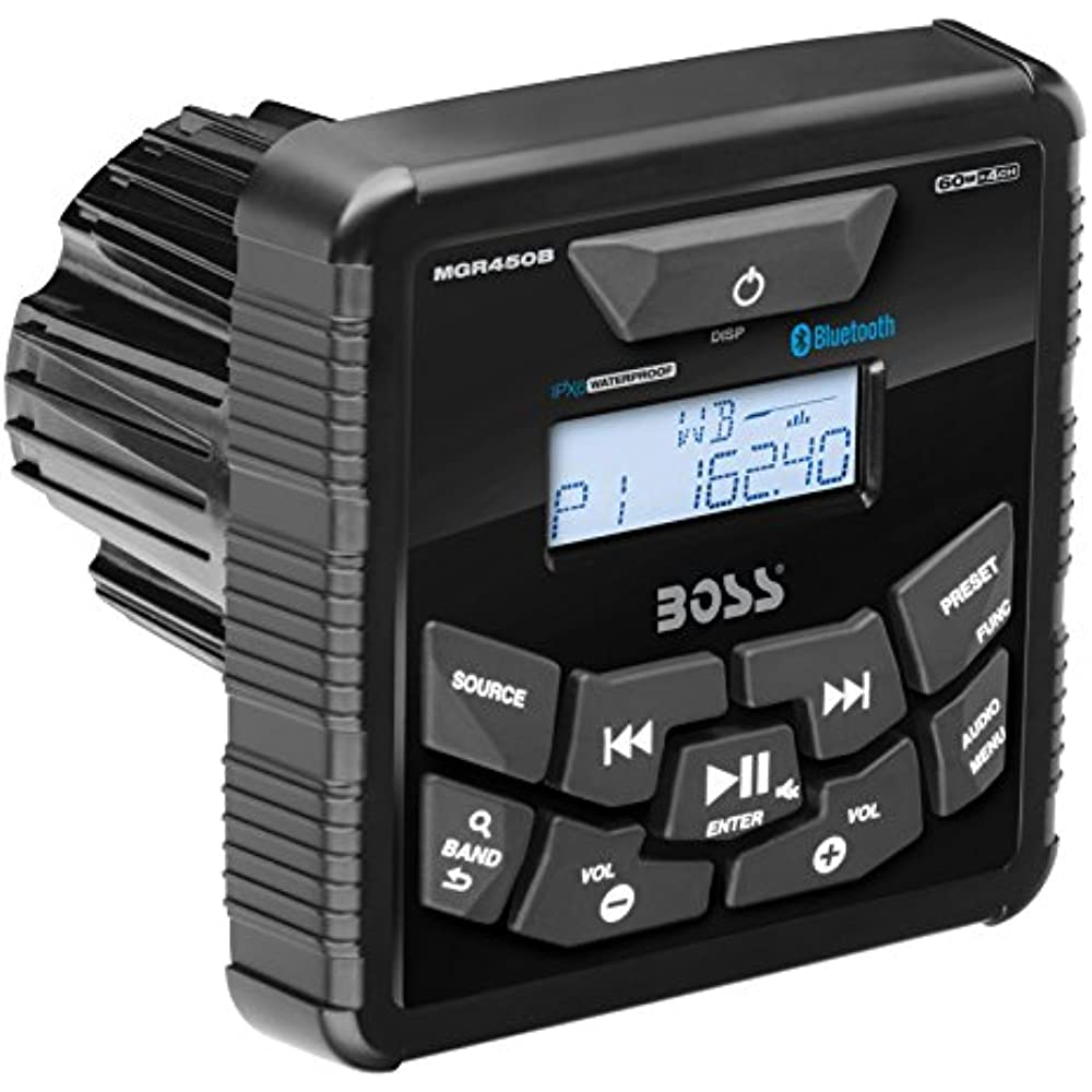 Details about BOSS Audio MGR450B In-Dash, Marine Gauge, Bluetooth, Digital  Media MP3 / Stereo,