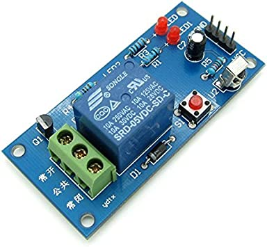 5V 1 Channel Infrared Remote Control Relay Module Learning IR Switch CA
