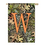 Mossy Oak Camouflage W Monogram House Flag For Sale