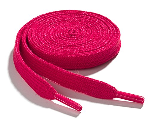 OrthoStep Narrow Flat Athletic 54 inch Hot Pink