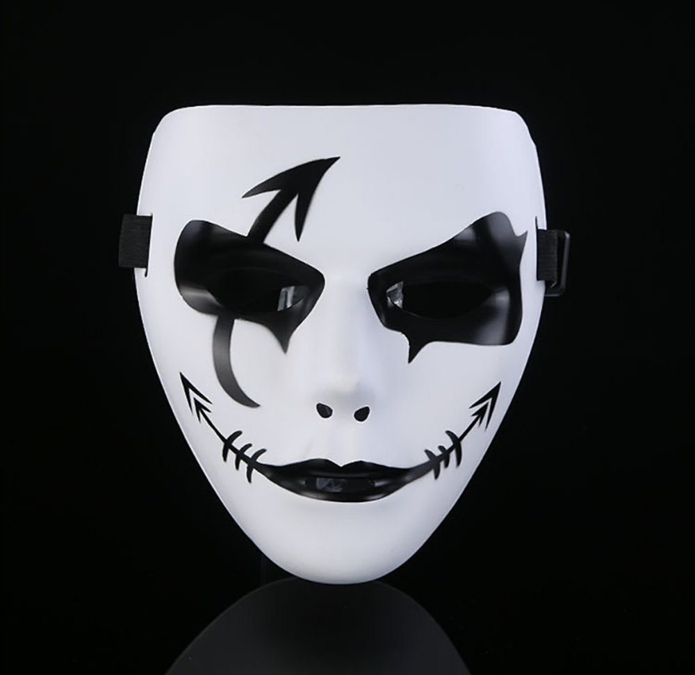 Laboo Halloween Mask - Cool Spooky Party Ghost Cosplay Mask