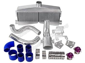 Twin Turbo Intercooler de tuberías de Bov Kit para SBC Motor 82 - 92 Camaro bloque pequeño: Amazon.es: Coche y moto