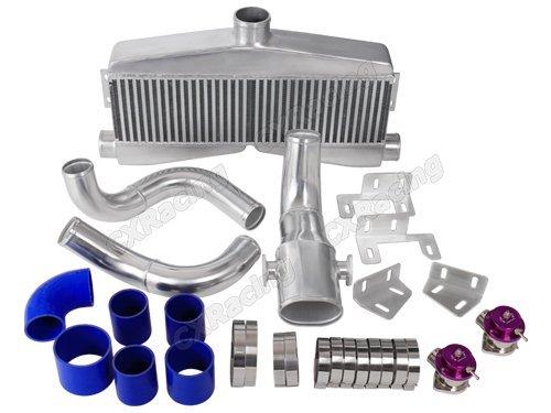 [Twin Turbo Intercooler Piping BOV Kit for SBC Engine 82-92 Camaro Small Block] (Twin Turbo Camaro)