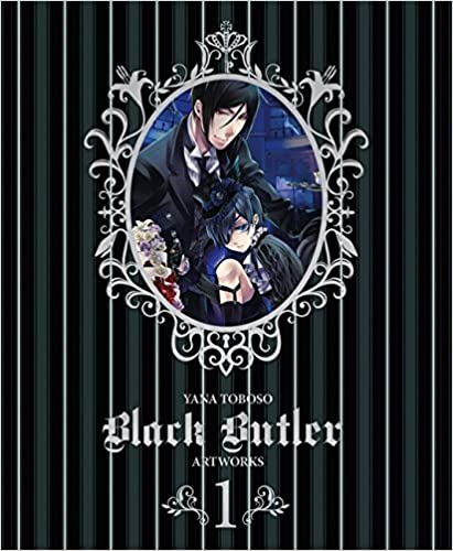 Book Yana Toboso Artworks Black Butler 1