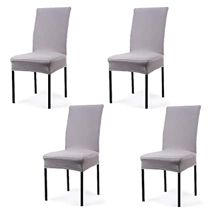 Image Unavailable Not Available For Color CosyVie Super Fit Universal Stretch Dining Chair Covers
