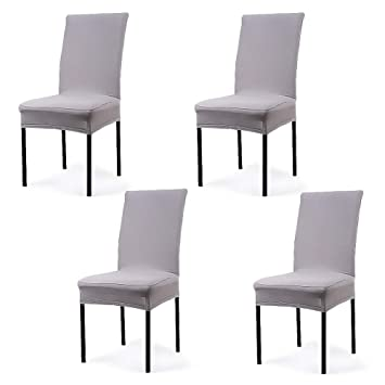 Amazon Com Cosyvie Super Fit Universal Stretch Dining Chair Covers