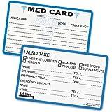 Tabbies Medical Information Card - 25 / Pack