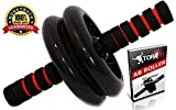 Ab Roller Plus Workout Equipment for abdominal exercise Ideal For Lose Belly Fat and six pack Slide Abs ab machine Evolution Knee Mat For Men and Women Navy Seal High Quality Go Now!