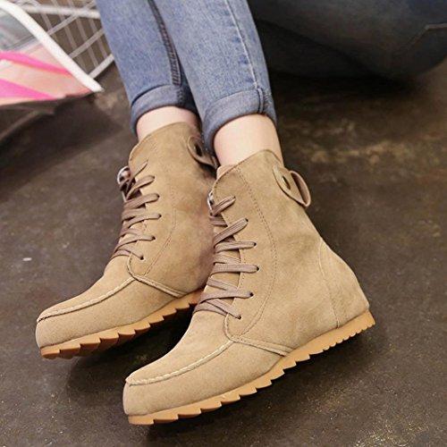 Kaki ville femme de pour à lacets Chaussures Fcostume 0ECqZwRx
