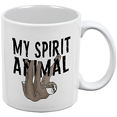 Sloth My Spirit Animal White All Over Coffee Mug - Animal World