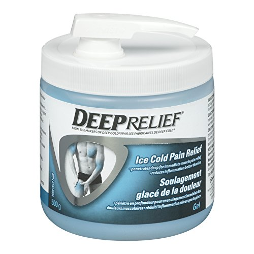 Deep Relief Ice Cold Pain Relief Gel, 500gm