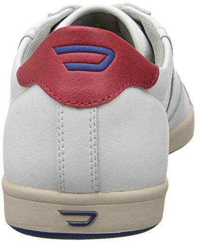 Diesel Mens Eastcop Grantor Low Fashion Sneaker White