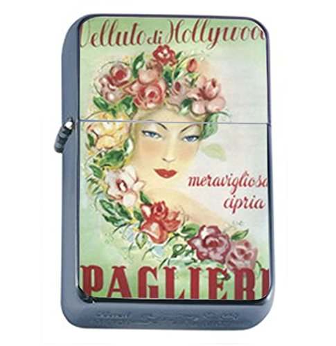 Paglieri Hollywood Italy Nice Oil Lighter D-063 by Perfection In Style