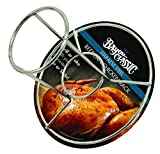 Bayou Classic 0880-CS, Stainless Steel Beercan Chicken Rack, Silver