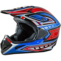 Fuel Helmets SH-OR3017 Graphic Off-Road Helmet,...