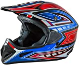Fuel Helmets SH-OR3016 Graphic Off-Road Helmet, Multicolor, Large