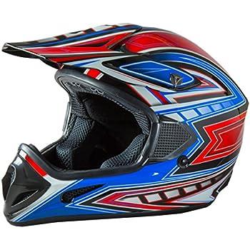 Fuel Helmets SH-OR3015 Graphic Off-Road Helmet, Multicolor, Medium