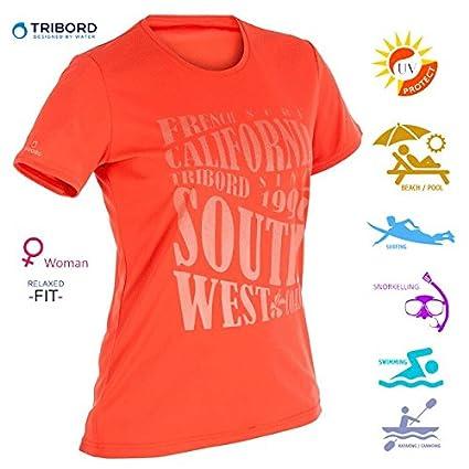 0e9807bd Buy Women's Swim T Shirt, Sun Protection - UPF 50+ Online at Low ...