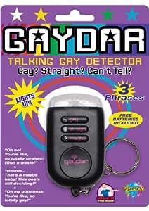 Amazon Com Talking Gaydar Keychain Ultimate Gay
