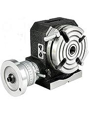 VEVOR Draaibare werktafel 100 mm met 4 sleuven, veel gebruikt voor boren, frezen, snijden enz.