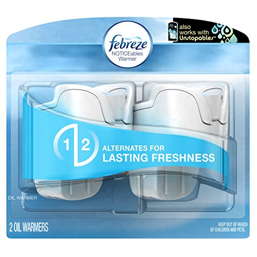 Febreze Noticeables Dual Scented Oil Warmer, 1.75-Ounce, 2 - Oil Dual Scented