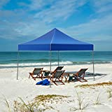 Canopy Tent Outdoor Party Shade, Instant Set Up and Easy Storage / Portable Carry Bag, Water Resistant Spacious Summer Cover 10x10 By Stalwart
