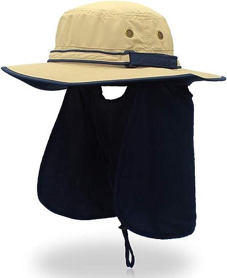 Gorras de Protección Solar Deporte al Aire Libre Senderismo ...