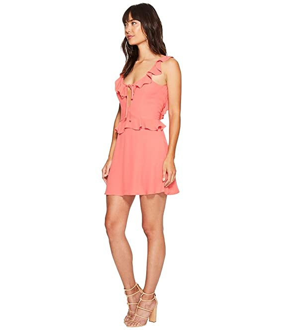 2b999ffc1b18 Flynn Skye Women's Mimi Dress Coral Dress at Amazon Women's Clothing store: